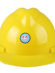 alta resistência e capacete de segurança resistente ao choque