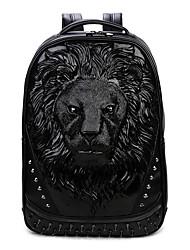 Men PU Casual Backpack / School Bag