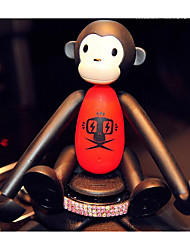 Monkey Car Perfume Seat - Car Mobile Phone Rack Car Perfume Car With Perfume Car Phone Branch