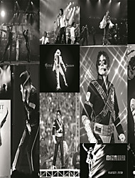JAMMORY Wallpaper For Home Wall Covering Canvas Adhesive required Mural Black and White Poster3XL(14'7''*9'2'')
