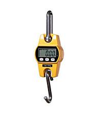 escala gancho eletrônico portátil (intervalo: 300 kg / 100g, laranja)