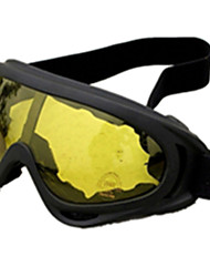 Yellow Color, TPU Material Goggle, Yellow lenses X400 Tactical Goggle