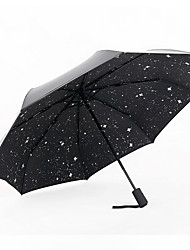 Starry Sky Sunny And Rainy Umbrella