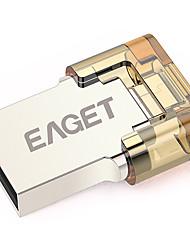 Eaget V8-8G 8GB USB 3.0 Suporte de OTG (Micro USB) / Resistente à Água / Resistente ao Choque / Tamanho Compacto