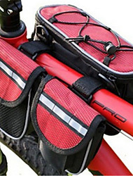 Cycle Bag Wearable / Breathable / Multifunctional Cycling/Bike Polyester / PVC Red / Black / Blue BATFOX