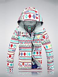 vêtements de ski en tête thermique chaud / matériaux légers coupe-vent