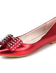 Feminino-Mocassins e Slip-Ons-Plataforma / Conforto / Inovador / Plástico / Botas Cano Curto / Mocassim / Gladiador / Plataforma Básica /