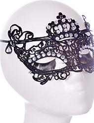 Lace Mask 1pc Le maschere per le vacanze Decorazione per feste Di tendenza / Fantastico Taglia unica Nero Pizzo