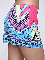 Women's Casual / Print Print Multi-color Shorts Pants