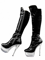 Women's Boots Fall / Winter Heels / Platform / Fashion Boots Patent Leather Wedding / Party / Fashion Week catwalk boots