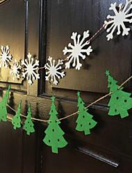 Acessórios do partido Acessório para Fantasia Natal Tema Clássico Other Não-Personalizado Material Amigo do Ambiente Multicolorido