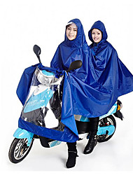 Billion To 180T Men And Women Double Electric Motorcycle Raincoat Poncho And Increase Extension