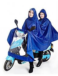 bilhões para 180T homens e mulheres casal motocicleta elétrica capa de chuva poncho e aumentar a extensão