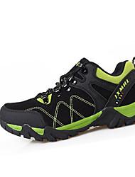 Homme / Femme-Sport-Noir / Marron / Vert / Violet / Fuchsia-Talon Plat-Confort-Sneakers-Faux Daim