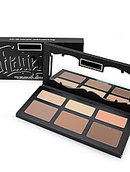 New New arrived Makeup Kat Shade & Light Contour Palette, 6 colors eyeshadow(1 pcs)