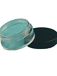 Cream Eye Shadow Powder Box Cosmetic Jar Plastic Cream Bottle