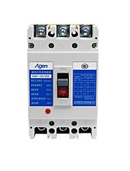 baixa tensão caixa de plástico disjuntor (modelo: cm1-100l / 3300 100a, tensão de funcionamento avaliado: 380v)