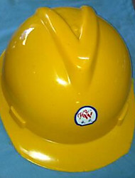 fornecer capacetes de plástico poderoso do construtor capacetes do tipo v anti esmagando-hat capacete da construção