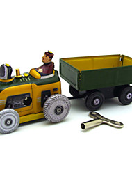 Nostalgic Toy Tractor Trailer