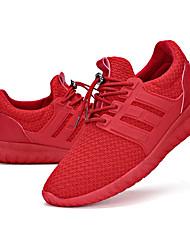 Da donna-Sneakers-SportivoPiatto-Tulle-Nero Rosa Rosso Grigio