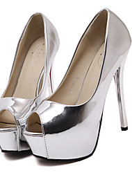 Women's Sandals Summer Sandals / Open Toe PU Dress Stiletto Heel Others Silver / Gold Others