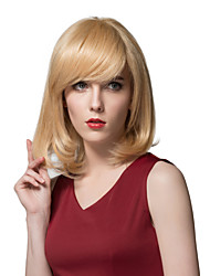Best Quality Medium Straight Blonde Human Hair For Women