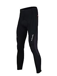 TASDAN Cyklo kalhoty Pánské Jezdit na kole Kalhoty Cyklistické kalhoty Prodyšné Rychleschnoucí Reflexní pásky Ter Emen 3D Pad Nylon