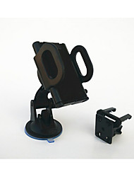 360 degrés véhicule rotatif sortie d'air du disque d'aspiration universelle multifonctionnelle support de téléphone mobile