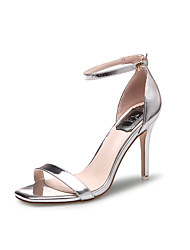 Women's Sandals Square Toe Patent Leather heels Stiletto Summer Sandal with Buckle Dress/Casual More Colors Available