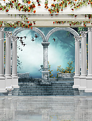 JAMMORY 3XL(14'7''*9'2'')3D Wallpaper For Home Contemporary Wall Covering Canvas Material Roman