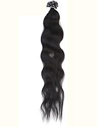 """neitsi 20 """"наконечник 50г кератина слияние у ногтей 1G / сек weavy расширений человеческих волос"""