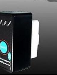 ELM327 com interruptor interruptor de faixa preta detector consumo de combustível obd2 ELM327 carro