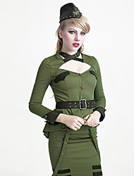 Y-623 BLUE Sexy Lady uniform style design skirts and blouse