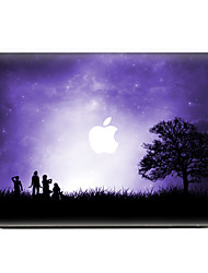 Looking At The Sky Pattern Scratch Proof PVC Sticker For MacBook Air 11 13/Pro13 15/Pro with Retina13 15/MacBook 12