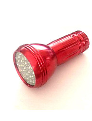 Lights LED Flashlights/Torch LED 50 Lumens 1 Mode LED AAA Emergency Camping/Hiking/Caving / Everyday Use Aluminum alloy