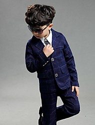 Polyester Ring Bearer Suit - 3 Pieces Includes  Jacket / Vest / Pants