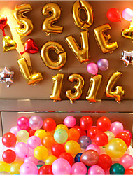 Eco-friendly Material Wedding Decorations-1Piece/Set Balloon Valentine's Day Fairytale Theme