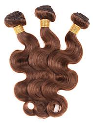 Человека ткет Волосы Бразильские волосы Естественные кудри 12 месяцев 1 шт. волосы ткет