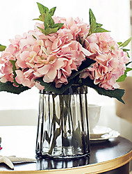 5 branch Top Frade 19cm Diameter Large Size Hydrangea Artificial Flower
