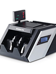 détecteur de monnaie de papier itelligent voix à double jbyd - 6688 - b grand écran principal