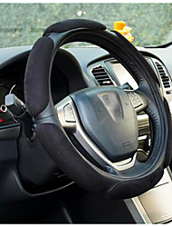 steering suede Cobertura de roda quatro estações de derrapagem geral se sentir confortável saúde ambiental insípido