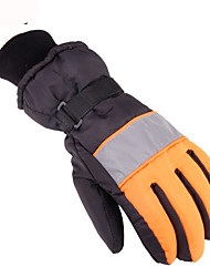 Thickened Male and Female Non Slip Warm Keeping Warm Sanitation Reflective Man Cycling Ski Gloves