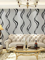 Wave Striped Wallpaper For Walls Home Decor Modern  Living Room Sofa Tv Background Wallpapers