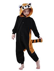 Kigurumi Animal Fête / Célébration Déguisement d'Halloween Noir Collant/Combinaison Halloween Noël Carnaval Le Jour des enfants Nouvel an