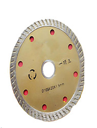 serra de diamante diâmetro da lâmina exterior: 115 milímetros), diâmetro interno: 22 milímetros)