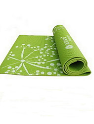 PVC Yoga Mats 173*61*0.8 Eco Friendly / Odor Free (1/8 inch) 3.5 mm Pink / Green / Purple No