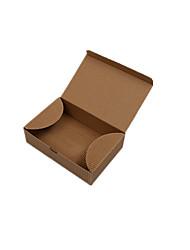 emballage de couleur brune&thé d'expédition des boîtes d'emballage boîte d'emballage à emporter un pack de quatre