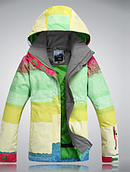 Skibekleidung tops thermische / warme leichte Materialien windproof