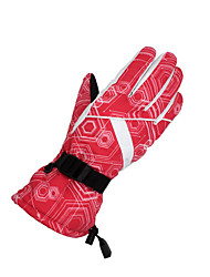Ski-Handschuhe Winterhandschuhe Damen / Alles Sporthandschuhe warm halten / Winddicht Handschuhe Skifahren / Snowboarding  Leinwand