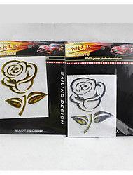Car Stickers Car Stickers Car Rose PVC Soft In Car Stereo With /3D